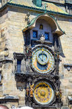 Astronomical clock in Prague Royalty Free Stock Photo