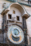Astronomical clock in Prague. Royalty Free Stock Images