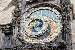 Astronomical clock in Prague Royalty Free Stock Image