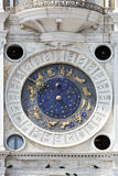 Astronomical clock in San Marco, Venice Royalty Free Stock Image