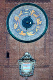 Astronomical clock, Torrazzo tower Royalty Free Stock Images