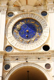 Astronomical Clock Tower, Details. Venice, Italy Royalty Free Stock Images