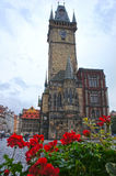 Astronomical Clock tower in old town Prague, Czech Republic Royalty Free Stock Image