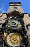 Astronomical clock tower Prague Stock Photos
