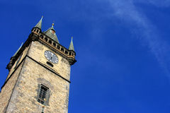 Astronomical Clock Tower in Prague Stock Images