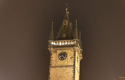 The astronomical clock tower in Prague, Czech republic Stock Photo