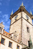 Astronomical Clock Tower in Prague. Royalty Free Stock Photography