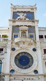 Astronomical clock and tower, Venice Stock Images