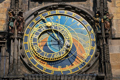 Astronomical clock on Town hall Stock Photography