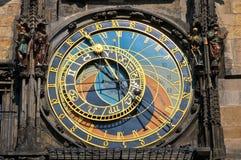 Astronomical clock on Town hall. Prague, Czech Republic Stock Photography