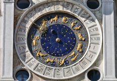 Astronomical clock, Venice Royalty Free Stock Image