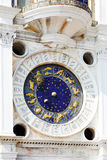Astronomical clock in Venice Royalty Free Stock Photo