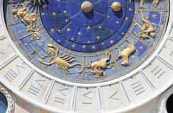 Astronomical clock of Venice Royalty Free Stock Photography