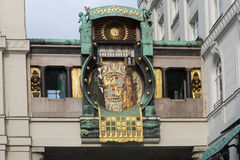 Astronomical clock Vienna Royalty Free Stock Images