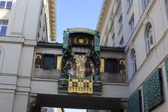 Astronomical clock Vienna Stock Photos