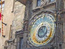 Astronomical Clock Orloj in Prague royalty free stock photo