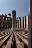 Astronomical instrument at Jantar Mantar observatory, Delhi, India Royalty Free Stock Photography