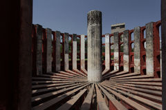 Astronomical instrument at Jantar Mantar observatory, Delhi, India Royalty Free Stock Image