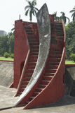 Astronomical instrument at Jantar Mantar observatory, Delhi, India Royalty Free Stock Images