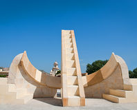 Astronomical instrument at Jantar Mantar observatory, Jaipur, Ra Stock Photography