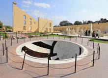 Astronomical instruments at Jantar Mantar observatory, Jaipur Royalty Free Stock Photography
