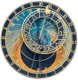 astronomical klocka royaltyfria bilder