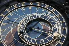 astronomical klocka Arkivbilder