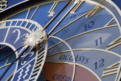 astronomical klocka Arkivbild