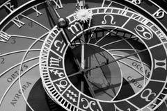 astronomical klocka gammala prague Royaltyfria Foton