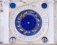 astronomical klocka italy venice royaltyfria foton