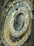astronomical klocka prague Arkivfoton