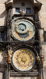astronomical klocka prague Royaltyfria Foton