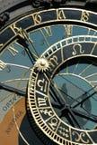 astronomical klocka prague Fotografering för Bildbyråer