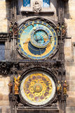 astronomical klocka prague Royaltyfri Foto