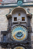astronomical klocka prague Royaltyfria Foton