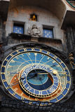 Astronomical klocka, Prague Royaltyfri Fotografi
