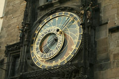 Astronomical klocka, Prague Royaltyfri Bild