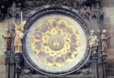 astronomical klocka prague Royaltyfria Bilder