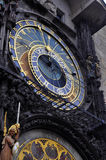 astronomical klocka prague Royaltyfri Foto