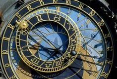 astronomical klocka prague Royaltyfri Fotografi