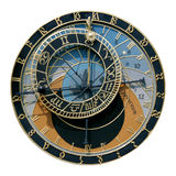 astronomical klocka prague Royaltyfri Bild