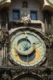 astronomical klocka prague s Royaltyfri Foto