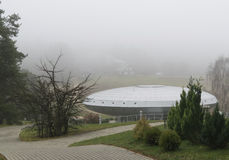 astronomical observatorium Arkivbild