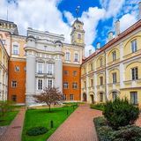 Astronomical Observatory courtyard at Vilnius University, Lithuania. Astronomical Observatory courtyard at Vilnius University, Vilnius, Lithuania Stock Photography