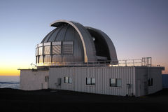 Astronomical Observatory - Hawaii - USA Stock Image