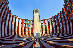 Astronomical observatory Jantar Mantar Stock Photography
