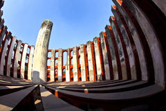 Astronomical observatory Jantar Mantar in Delhi Royalty Free Stock Photo