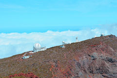 Astronomical Observatory located On La Palma, Canary Islands, Spain Royalty Free Stock Image