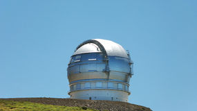 Astronomical observatory in Roque de los Muchachos. La Palma. Sp Stock Photography