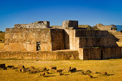Astronomical Observatory, ruins of of Monte Alban - Oaxaca, Mexi Stock Images